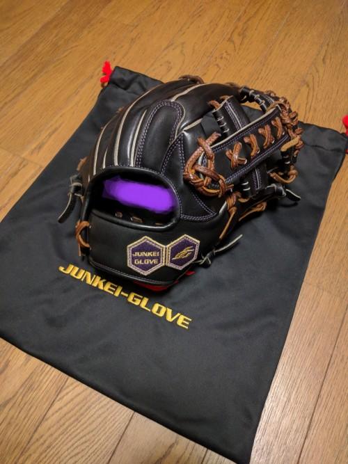 野球人生最後?のグローブ